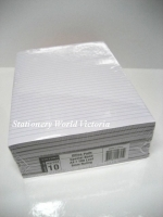 Ruled Office Pads A4 Victory 100LF (Bank) WPR011