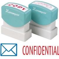 XSTAMPER STAMP - Confidential (2 colour) 2034 (5020340)