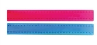 Marbig Fluorescent 30cm Plastic Ruler 975168