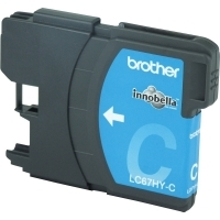 Brother Ink Cartridge LC67HY-C Cyan HiCapacity