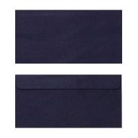 Quill Envelope 80gsm DL 110x220 Pack 25 - Black
