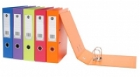 Marbig Lever Arch File PVC Summer Colours A4 6509006 Orange