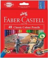 Faber Castell 48 Classic Colour Pencils PK48 Assorted