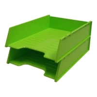 Document Tray Italplast Stackable i60 (Fruit) Lime