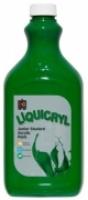 Liquicryl Junior Student Acrylic Paint 2L Brilliant Green