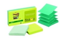 Post It Pop Up Notes R330-6SST Recycled 76x76 BoraBora PK6