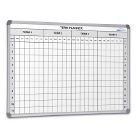 Visionchart School 4 Term Planner 1200x900mm