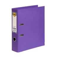 MARBIG PE LINEN LEVER Arch File A4 Purple
