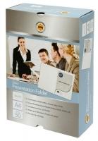 Marbig Presentation Folder A4 White Gloss 1104308 BX50