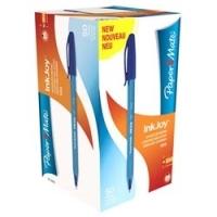 Papermate Inkjoy 100 Pens BX50  1.0 Blue