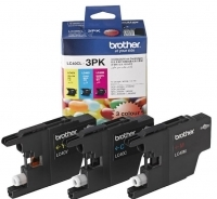 Brother Ink Cartridge LC40CL-3PK CMY 3 Colour Pack