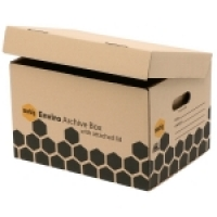 Marbig Enviro Archive Box 80022E BX10 Extra Strong+Attached Lid