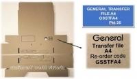 GENERAL Transfer File Box A4 PK25 GSSTFA4