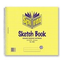 Spirax Sketch Book 578A 247x270mm 32sheet 110gsm