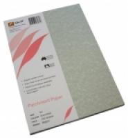 Quill Parchment Paper A4 90gsm PK100 Gunmetal