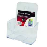 Deflecto Brochure Holder A5 + Business Card Holder 74911