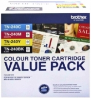 Brother Toner TN240CLPK4 4Colour ValuePack