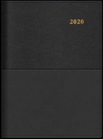 Collins Vanessa 245 Diary 2020 A4 2 Days/Page Black 245.V99