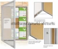 Visionchart External Notice Board TX6002 590x1080mm 50mm(D)