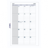 Dayplanner Refills DK1310 216x140 Monthly Dated Tab Refill 2021