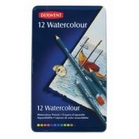 Derwent Watercolour Pencils tin12 Assorted R32881