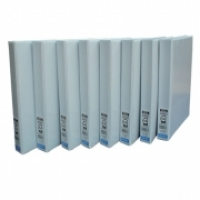 Bantex Insert Binder A4 2D 16mm (100page) White BX12