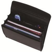 Marbig Professional Series Attache Wallet 9009102 Black
