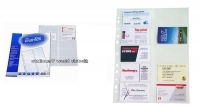 Bantex Business Card Binder Refill Sheets A4 2140 Pkt10