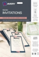Avery C2369 DL Invitations 210x99mm 30pack