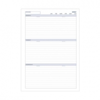 Dayplanner Refills EX5016 A4 Weekly Non-Dated