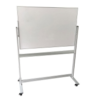 Penrite Premium Slimline Magnetic Mobile Whiteboard 1500x1200mm