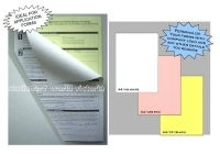 Bala Carbonless Laser Paper A4 80gsm A4/TWPY Collated (3 Part)