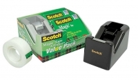 Scotch 810 Magic Tape Value Pack  K2-C28 Black