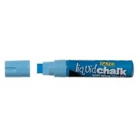 Texta Jumbo Liquid Chalk Wet Wipe Marker 15mm Blue