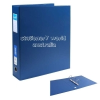 Bantex Ring Binder A3 Upright 3D 65mm (500p) Blue BX4