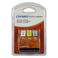Dymo Letratag Labelling Tape Starter Kit 91240 pack of 3