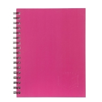 Spirax Notebook 511 Hardcover 225x175 200page PK5 Pink