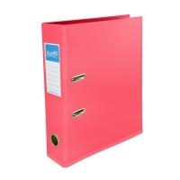Bantex Lever Arch File PVC A4 Vibrant Colours 1450-19 Pink