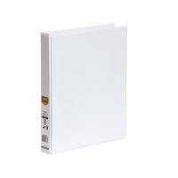 Marbig Clearview Insert Binder A4 4D 25mm (200page) White BX20