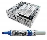 Pentel Maxiflo Whiteboard Marker MWL5C Blue BX12