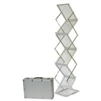 Deflecto Display Rack Alum Concertina (A4 x 6) DR1003