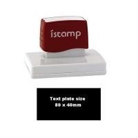 iSTAMP Pre-Inked Laser Stamp iS60 80x40mm