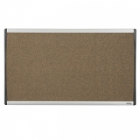 QUARTET ARC CUBICLE CORK BOARD 610x360mm