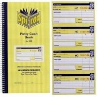 Cash Receipt Book Dup 4up Carbonless Spirax 553