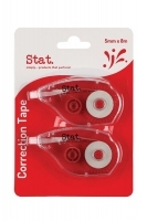 STAT Correction Tape 5mm x 8Mt PK2 48024
