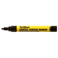 ARTLINE GENERAL PURPOSE PERMANENT MARKER BLACK
