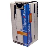 Papermate Kilometrico B.P. Pens BX50 Med Black
