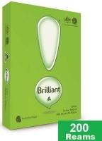 Brilliant A4 Paper 80gsm White E(40bxs:200reams) Med-Pallet