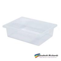 Elizabeth Richards Plastic Tote Tray Clear