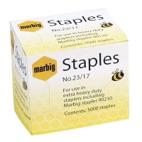 Marbig Staples 90217 Heavy Duty 23/17 BX5000 (110-140sheets)